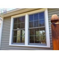 Wholesale Europe Style Double Hung Aluminium Windows Double Glazed With Grilles from china suppliers