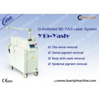 Buy cheap Q - Switch Nd Yag Laser Tattoo Removal Machine for Pigmentation Removal from wholesalers