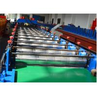 Wholesale 18 stations Glazed Tile Roll Forming Machine / Roof Panel Roll Forming Machine 0-12m/min from china suppliers