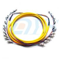 Wholesale FC / UPC 12 Color Bundle Fiber Optic Patch Cord 0.9mm Single Mode Stable Capability from china suppliers