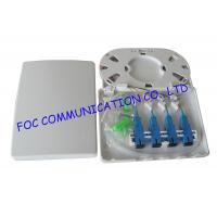 Wholesale 4 Port Fiber Optic Patch Panel Terminal Box Full Loaded With Adapters and Pigtails from china suppliers