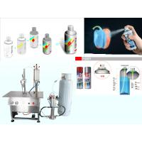 Wholesale Semi Automatic Aerosol Filling Machine for Graffiti Spray Paint Pneumatic Drive from china suppliers