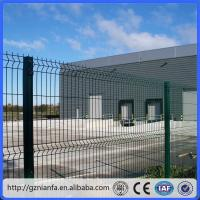 Buy cheap ISO/CE certificated galvanized and PVC coated Welded Wire Mesh Fence(Guangzhou Factory) from wholesalers