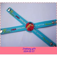 Wholesale 2014 pvc wristbands for events from china suppliers