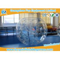 Wholesale 1.2m PVC / TPU Inflatable Bubble Ball For Games , Human Bumper Balls from china suppliers