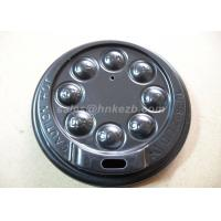 Wholesale Black Disposable Coffee mug lid For 8oz / 12oz Coffee Cup PS Material from china suppliers