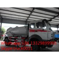Wholesale 270hp 4*2 North Benz Vacuum Suction sewage tank 8000 liter for sale, best price North Benz LHD 4*2 septic tank truck from china suppliers