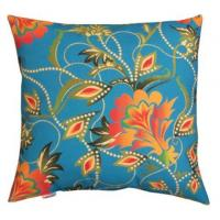 Wholesale Bright Floral Tapestry Plush Outdoor Decorative Pillows Waterproof OEM from china suppliers