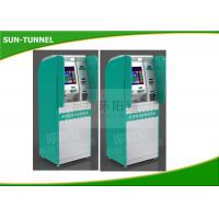 Wholesale Automated Boarding Pass Kiosk , 250cd / Sqm Airport Check In Kiosk With Pin Pad from china suppliers
