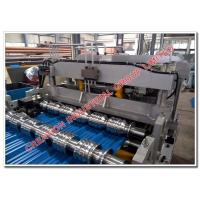 Quality Colourful Aluminium Steptile Roofing Sheet Corrugating Machine for Different Colors and Gauges Coils for sale