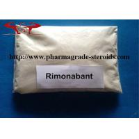 Wholesale White Powder Pharmaceutical Raw Materials Rimonabant / Acomplia For Losing Weight from china suppliers