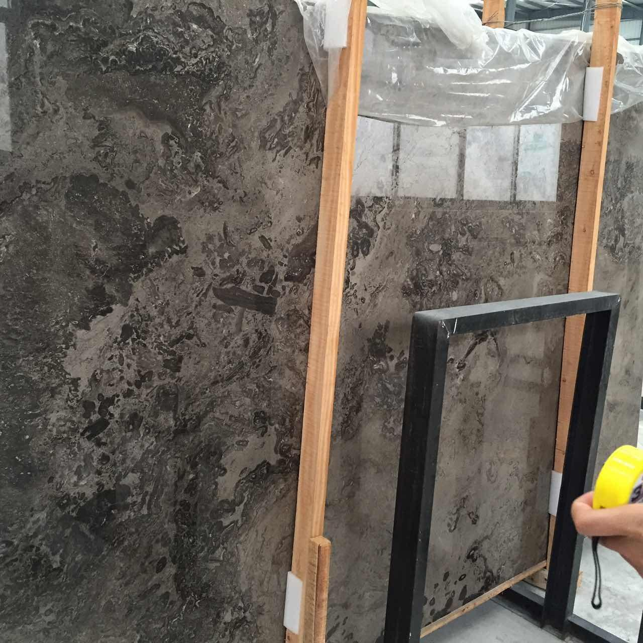 Wholesale New Product Popular Marble--Aristoner Grey Marble On Selling from china suppliers