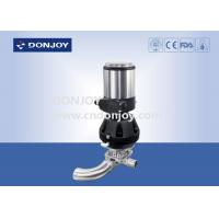 Buy cheap 316 L SS  Clamp U - B Tee stainless steel valve  with Plastic Handwheel from wholesalers
