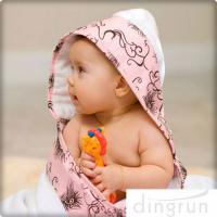 Wholesale Animal Pattern Personalized Hooded Baby Towels , Toddler Hooded Towels AZO Free from china suppliers