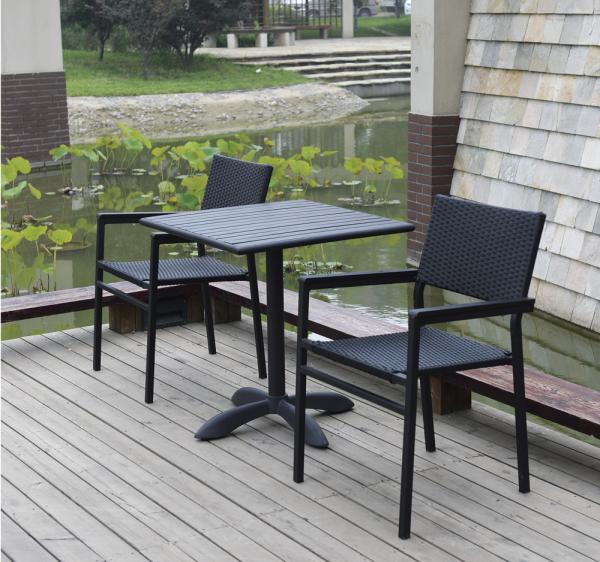 Modern Outdoor Furniture Metal Frame Wicker Rattan Outdoor