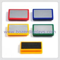 Wholesale LOGO rectangle plastic magnet   from china suppliers