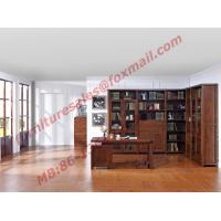 Wholesale Solid Wooden with Glass Door Material Bookcase Set  for Living Room Furniture from china suppliers