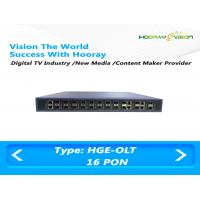 Wholesale High Integrated GPON EPON OLT Optical Line Terminal Cassette 16 Ports from china suppliers
