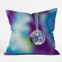 Wholesale 18 Inch Outdoor Decorative Throw Pillows With Magic Water Drop Printed from china suppliers
