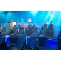 Wholesale Black Motion Seat Cinema 5D Simulator System With Three Dimensional Movies from china suppliers