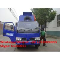 Wholesale customized CLW 4*2 LHD side garbage bin lifter truck for sale, HOT SALE! lowest price CLW brand side loader garbge truck from china suppliers