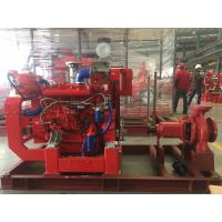 Wholesale Diesel Engine Single Stage End Suction Centrifugal Pump For Fire Fighting 400usgpm from china suppliers