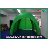 Wholesale Exhibition Green Giant Inflatable Air Tent  / PVC Tarpaulin Camping Tent from china suppliers