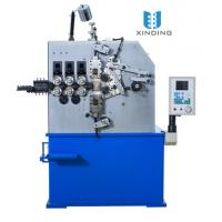 Wholesale Blue Three Axis Automatic Spring Coiling Machine With Pitch Servo Motor 1.5 Kw from china suppliers