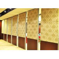 Wholesale One Way Sliding Partition Wall Movable Partition Walls Folding Partition Door from china suppliers