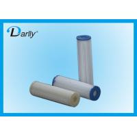 Wholesale 10'' PP Disposable Pleated Filter Cartridge For Acid Base Liquid In Chemical from china suppliers