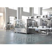 220V Full Automatic Fruit Juice Bottling Equipment Beverage Filling Production Line