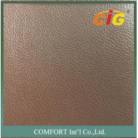 Wholesale Strong Knitting Mesh Backing Artificial Car Seat Leather / PVC Vinyl Fabric from china suppliers
