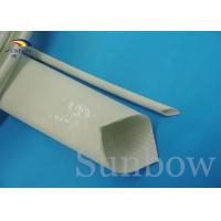 Wholesale Fiberglass Silicone Rubber Coated sleeving UL ROHS REACH SUPPORT from china suppliers