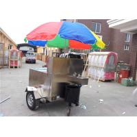 "Wholesale Stainless Steel Hot Dog Vending Cart / Snacking Cart W 40"" x L 48"" x H24"" from china suppliers"