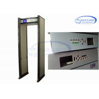 Wholesale PC Connected Waterproof Door Frame Metal Detector LCD Screen For Airport Check from china suppliers