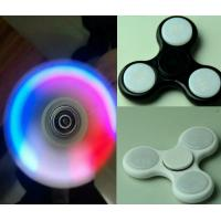 Quality Shinny LED Hand Spinner With 608RS Bearing Fidget Light Hand Spinner Toys for sale
