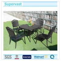 Wholesale Table and Chair Cast Aluminium Patio Furniture Metal Outdoor Dining Set from china suppliers