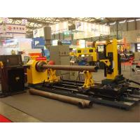 Wholesale Turning Automatic Pipe Cutting Machine , Flame / Plasma Cutting Guns Tank Welding Machine from china suppliers