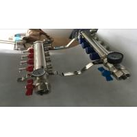 Wholesale Heatmiser Underfloor Heating Manifold For Pex  Water Manifolds Without Pump Sliver Color from china suppliers