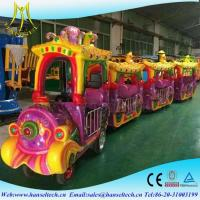 Wholesale Hansel children park riders outdoor electric mall trains/kids electric amusement train rides for sale from china suppliers
