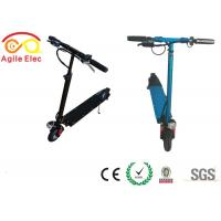 Wholesale Lightest Stand On Kids Electric Scooter Foldable With LED Light Control Unit from china suppliers