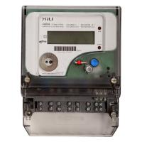 Wholesale Polyphase Residential Three Phase Energy Meter Four Wire 3 x 230V / 400V AC from china suppliers