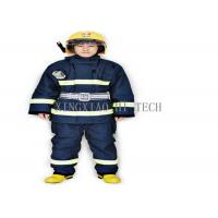 Wholesale Wear Resistant Fire Safety Suit , Chemical Protective Fire Retardant Safety Clothing from china suppliers