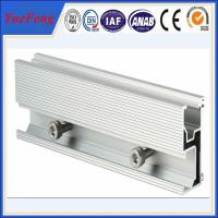 Wholesale Aluminum extrusion for solar pannel mounting aluminium profile guide rail from china suppliers