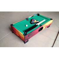 Wholesale Attractive Kids Play Mini Game Table Color Graphics Design Wood Pool Table from china suppliers