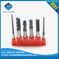 Buy cheap hot sale high quality end mill/ carbide end mill/ball nose end mill with AlTiN coating from wholesalers