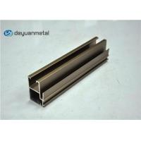 Wholesale Champagne Anodized Aluminium Profile Extruded Aluminum Window Profile 20 Foot from china suppliers