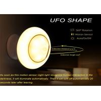 Magnetic UFO Led Motion Sensor Night Light  With Wall Holder 360 Rotation