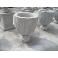 Wholesale White Craved Flower Pots (Lianyu-153) from china suppliers