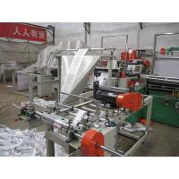 Wholesale PLC T Shirt Polythene bag making machine Single line With Servo motor from china suppliers